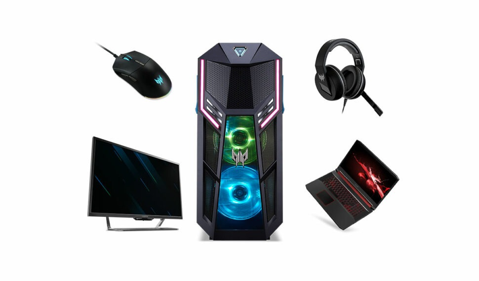 Novinky pro hráče od Aceru