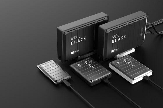 Nové externí disky pro herní PCakonzole WD_Black