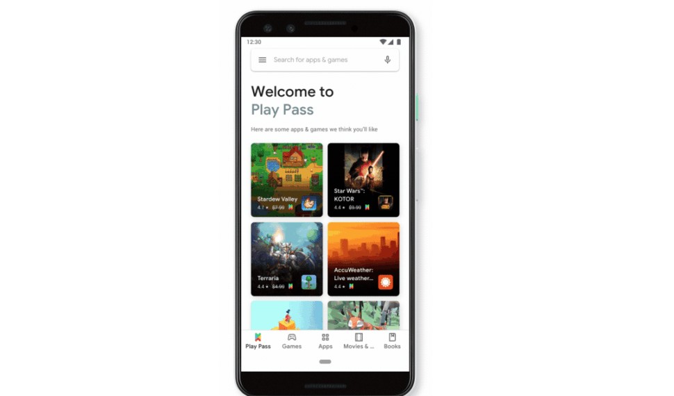 Google spustil předplatné Play Pass