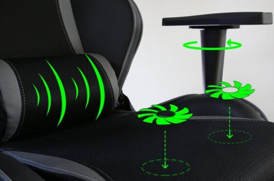 Evolveo Ptero ZX: Profesionální herní křeslo