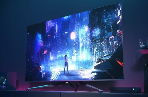 Velkoformátový herní monitor ROG Swift PG65UQ