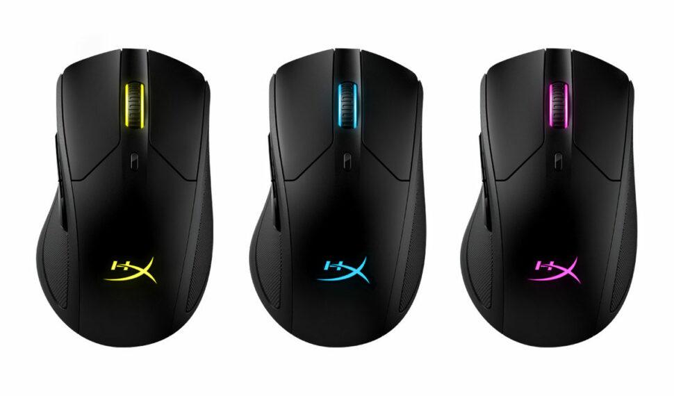 HyperX: Bezdrátová herní myš Pulsefire Dart anabíjející stanice ChargePlay Base