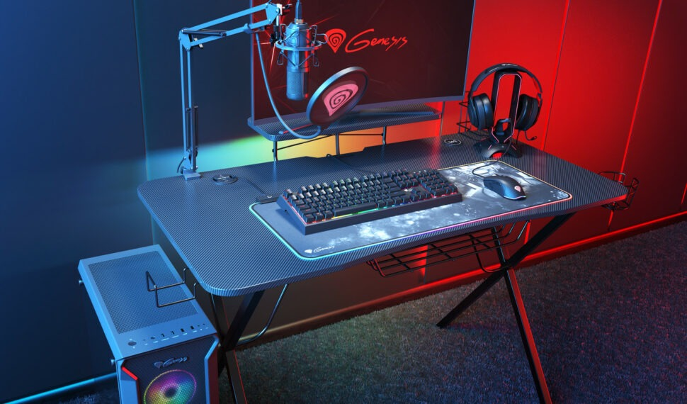 Stůl pro hráče: Genesis Holm 300