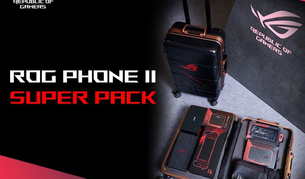 Asus: Kufr skompletním příslušenstvím pro ROG Phone II