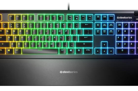 SteelSeries: klávesnice Apex 3 aApex 5