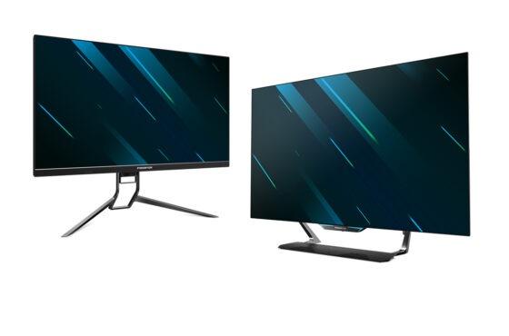Nové monitory od Aceru: Predator CG552K aPredator X32