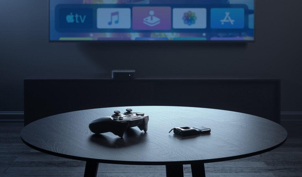 Bezdrátový gamepad SteelSeries Nimbus+ pro iPhone, iPad, iPod touch, Mac aApple TV