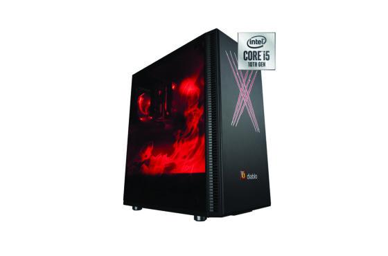 Herní X-Diablo od AT Computers dostalo do výbavy nový procesor