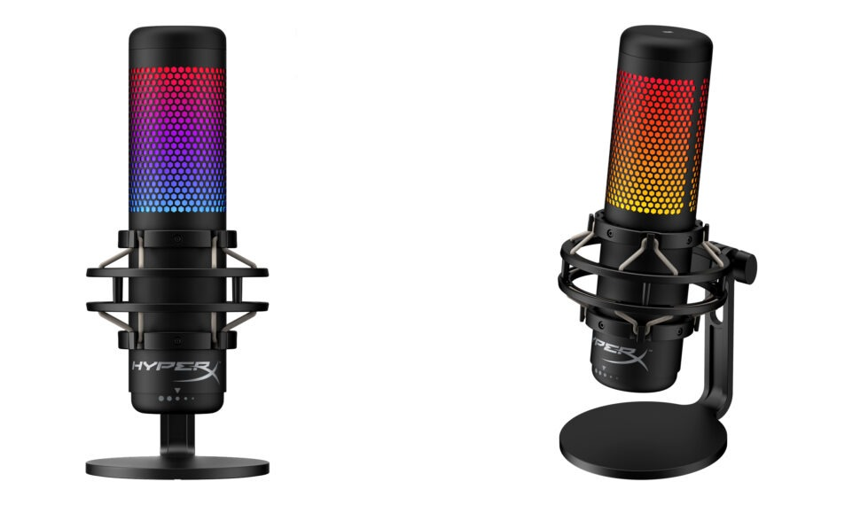 HyperX QuadCast S: USB mikrofon s RGB podsvícením