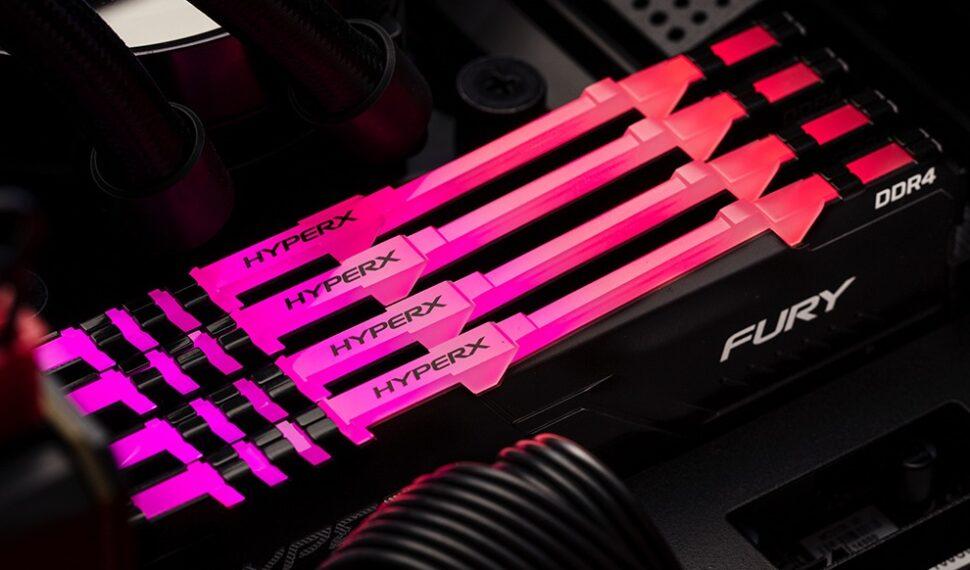 HyperX: Nové FURY DDR4 RGB