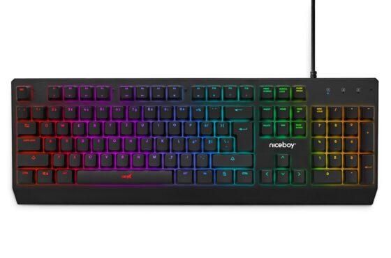 Herní klávesnice Niceboy ORYX K610 Chameleon