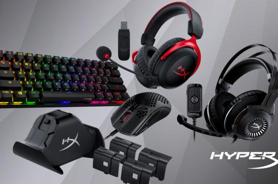 HyperX: nové herní vybavení pro počítače akonzole