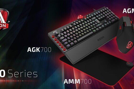 AOC rozšiřuje svůj herní ekosystém omechanické klávesnice, myši apodložky pod myš