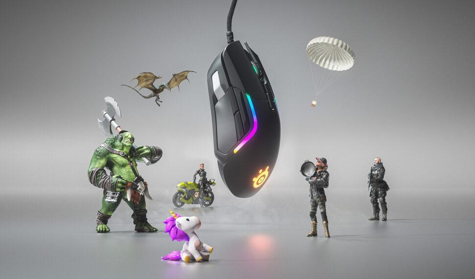 SteelSeries: myš Rival 5 inspirovaná chameleonem