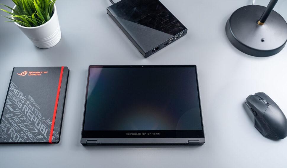 Asus: Konvertibilní herní notebook ROG Flow X13 aexterní grafika XG Mobile