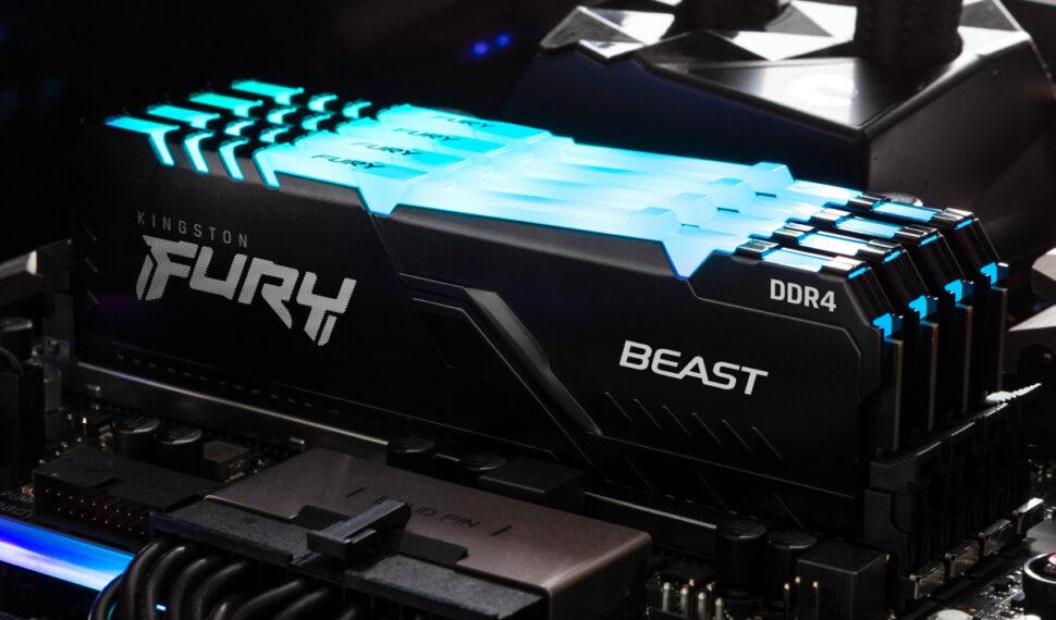 Kingston své gamingové paměťové produkty nabídne pod značkou Fury