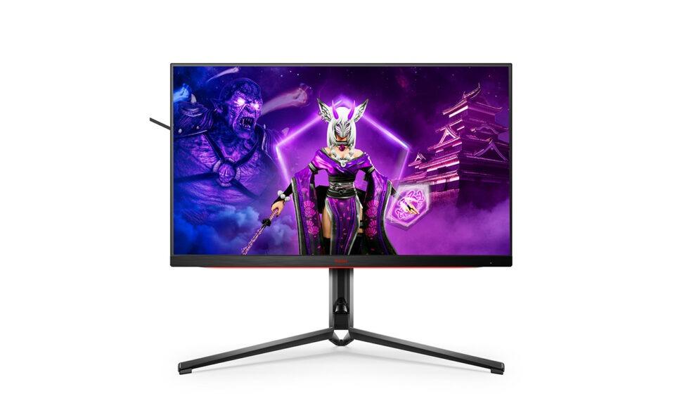 Nové monitory pro esport AGON PRO sHDR, HDMI 2.1 a1 ms GtG