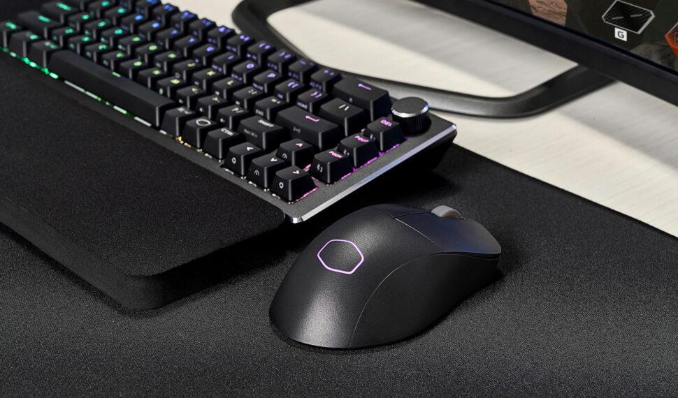 Myši Cooler Master slehkým designem bez perforace