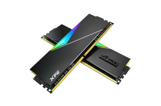 Paměťový modul SPECTRIX D50 DDR4 RGB scertifikací od ROG