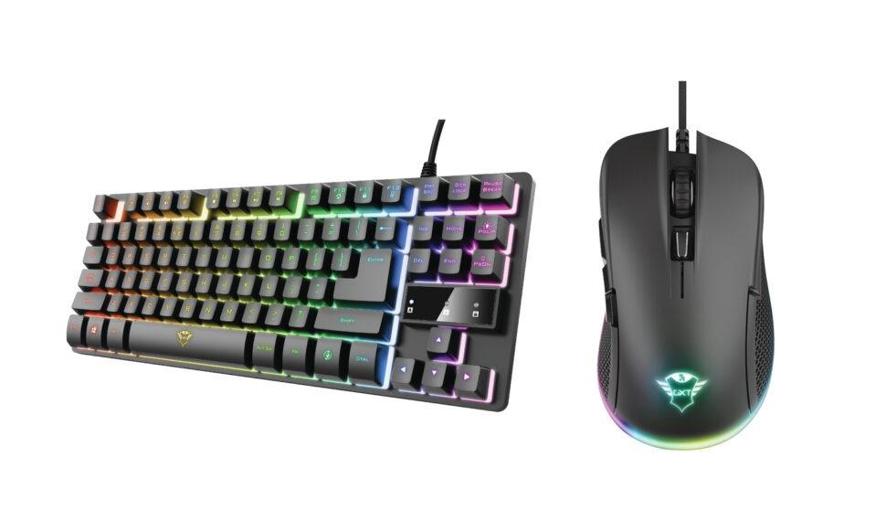 Trust: myši aklávesnice pro hráče